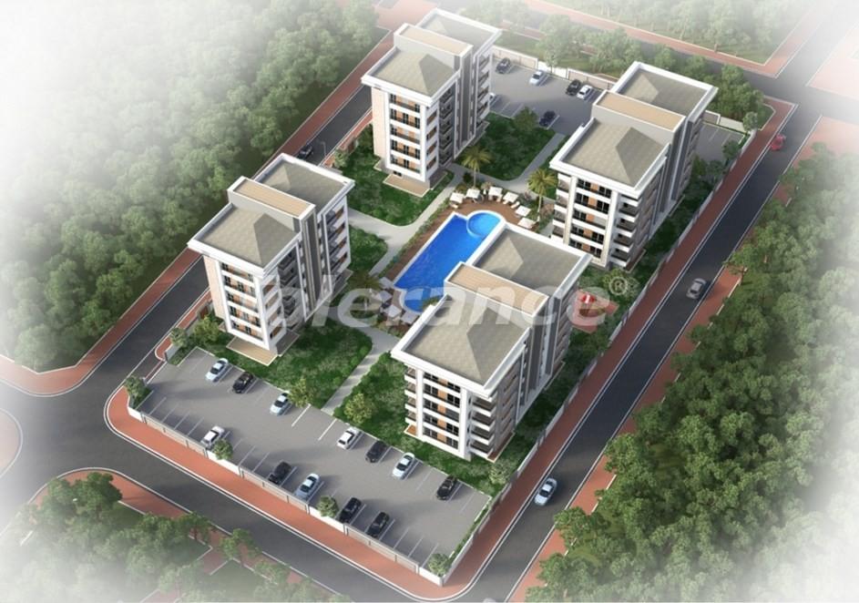 Просторная квартира в Кепезе, Анталия в комплексе с бассейном - 20022 | Tolerance Homes