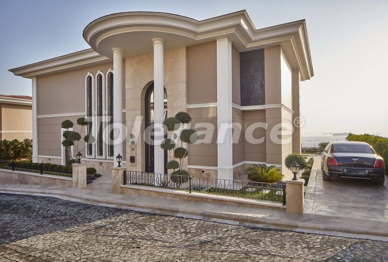 Современные виллы в Бейликдюзю, Стамбул в мини городе с роскошным видом на Мраморное море - 20328   Tolerance Homes