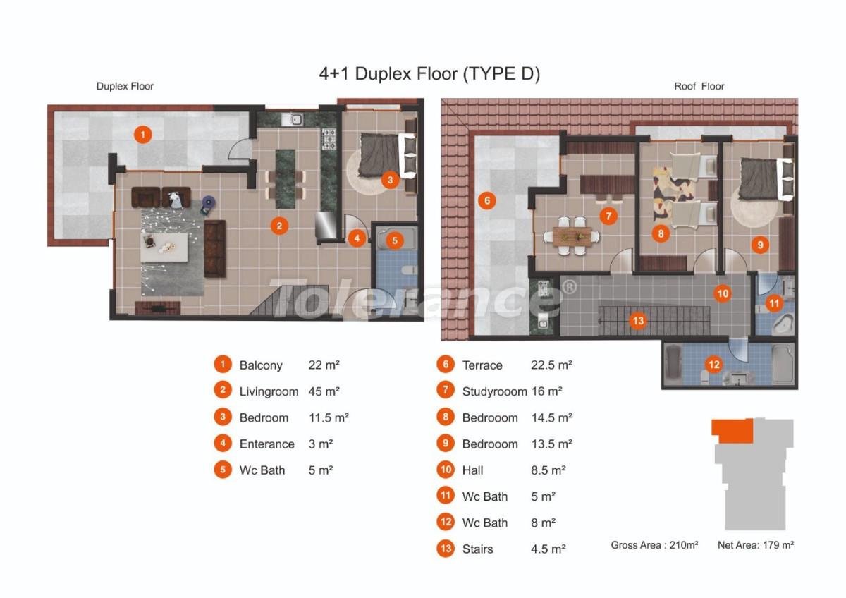 Апартаменты в Кестеле от надежного застройщика с рассрочкой до 1 года рядом с морем - 20437 | Tolerance Homes