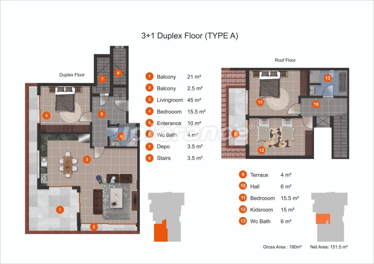 Апартаменты в Кестеле от надежного застройщика с рассрочкой до 1 года рядом с морем - 20435 | Tolerance Homes