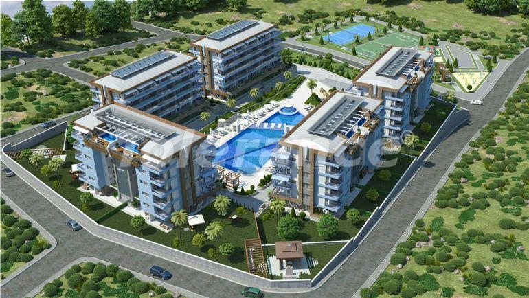 Элитные апартаменты в Каргыджаке, Аланья от одного из лучших застройщиков - 20479   Tolerance Homes