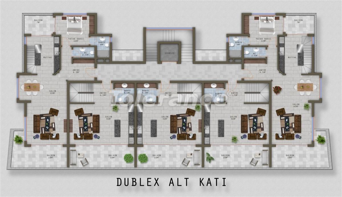 Элитные апартаменты в Каргыджаке, Аланья от одного из лучших застройщиков - 20525   Tolerance Homes