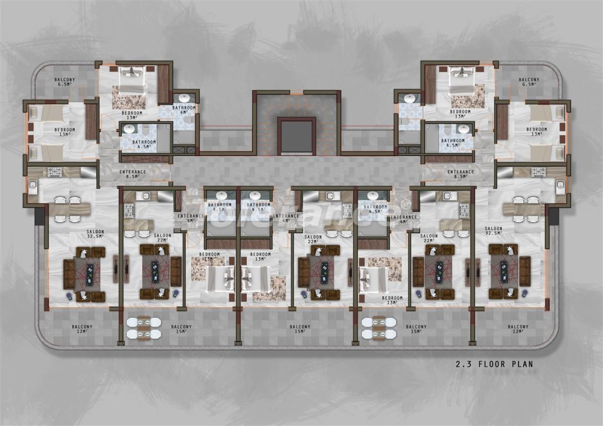 Новый проект в Каргиджаке с отдельной инфраструктурой для женщин и мужчин - 20729 | Tolerance Homes