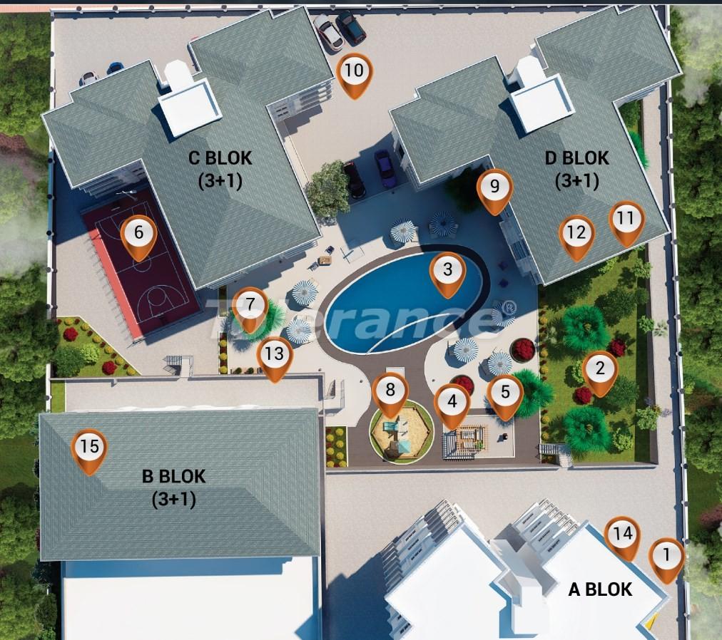 Современные квартиры  в Кепезе, Анталия от застройщика - 20861 | Tolerance Homes