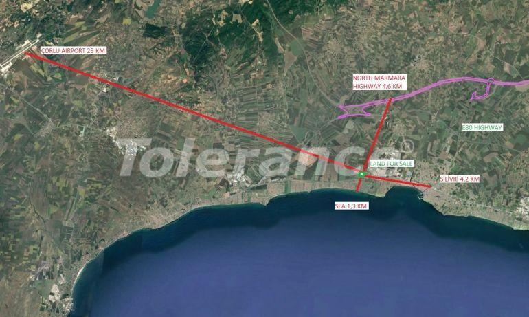 Земельный участок под строительство жилой недвижимости в Силиври, Стамбул рядом с морем - 20932 | Tolerance Homes