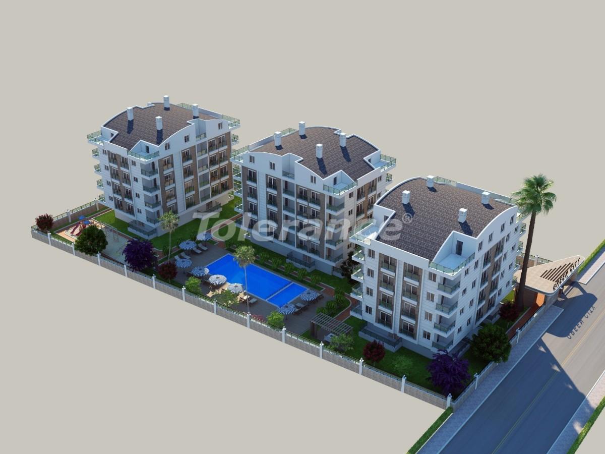 Квартиры в Сарысу, Коньяалты в комплексе с бассейном с рассрочкой до 1 года от застройщика - 21168 | Tolerance Homes