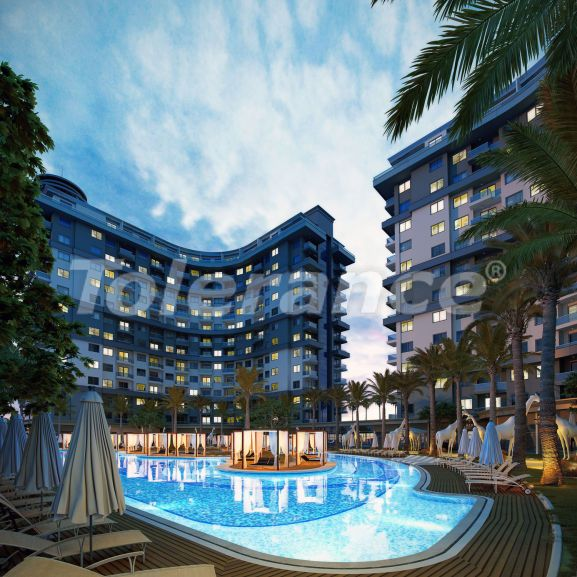 Роскошные апартаменты в комплексе с открытым бассейном, крытым бассейном, сауной и фитнес-центром - 21394 | Tolerance Homes