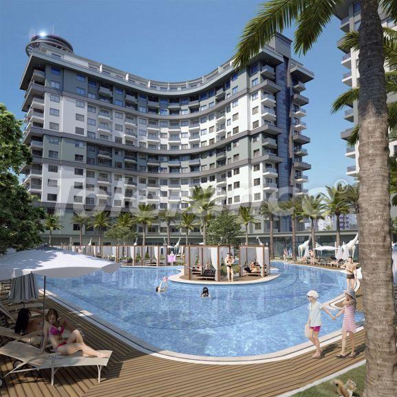 Роскошные апартаменты в комплексе с открытым бассейном, крытым бассейном, сауной и фитнес-центром - 21435   Tolerance Homes