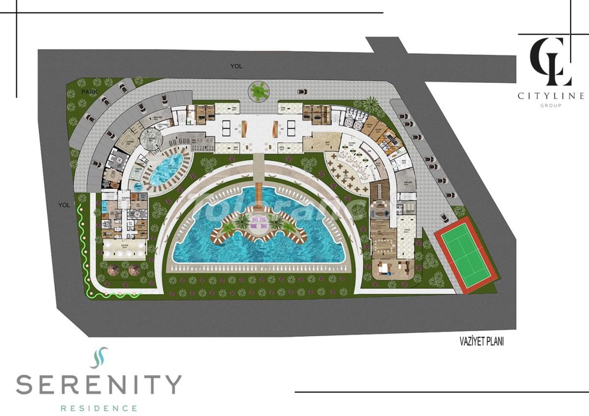 Роскошные апартаменты в комплексе с открытым бассейном, крытым бассейном, сауной и фитнес-центром - 21430   Tolerance Homes