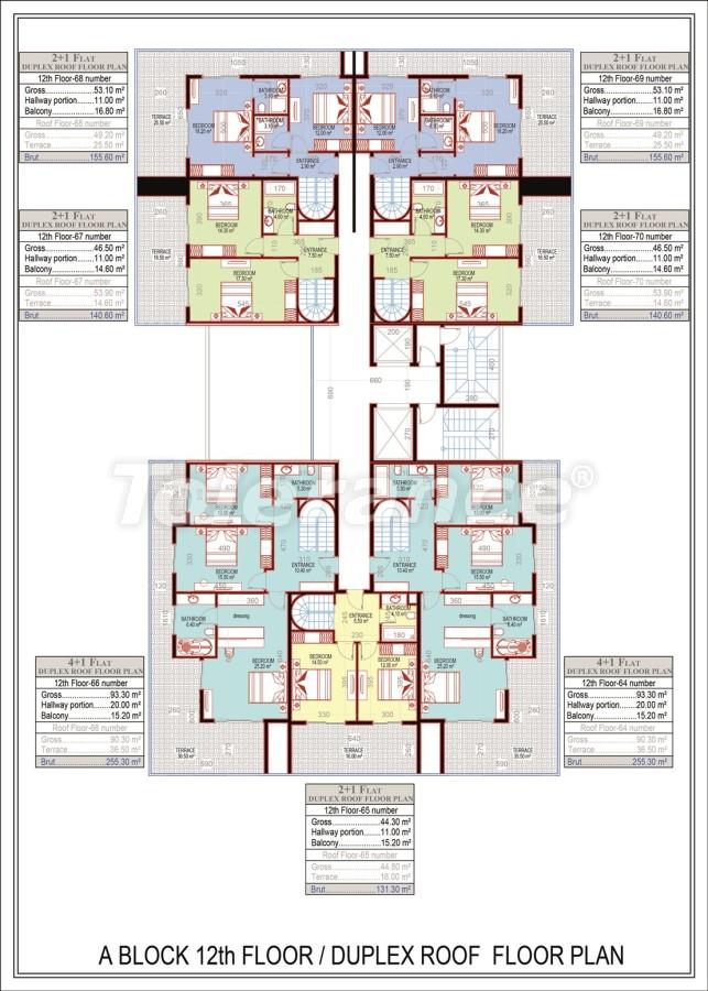 Эксклюзивный проект в центре Махмутлара, Алания от надежного застройщика с рассрочкой до 2-х лет - 21674 | Tolerance Homes
