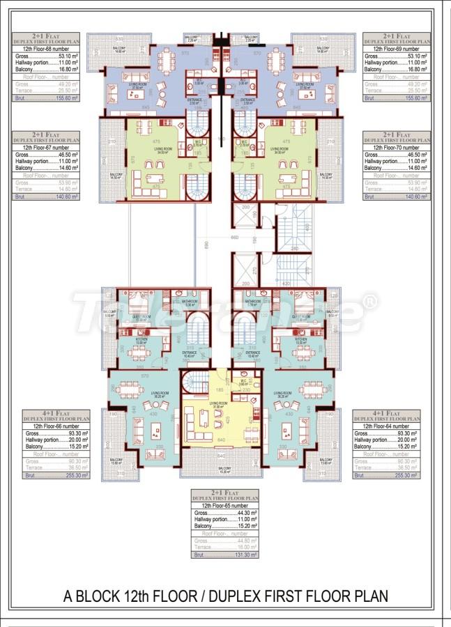 Эксклюзивный проект в центре Махмутлара, Алания от надежного застройщика с рассрочкой до 2-х лет - 21673 | Tolerance Homes
