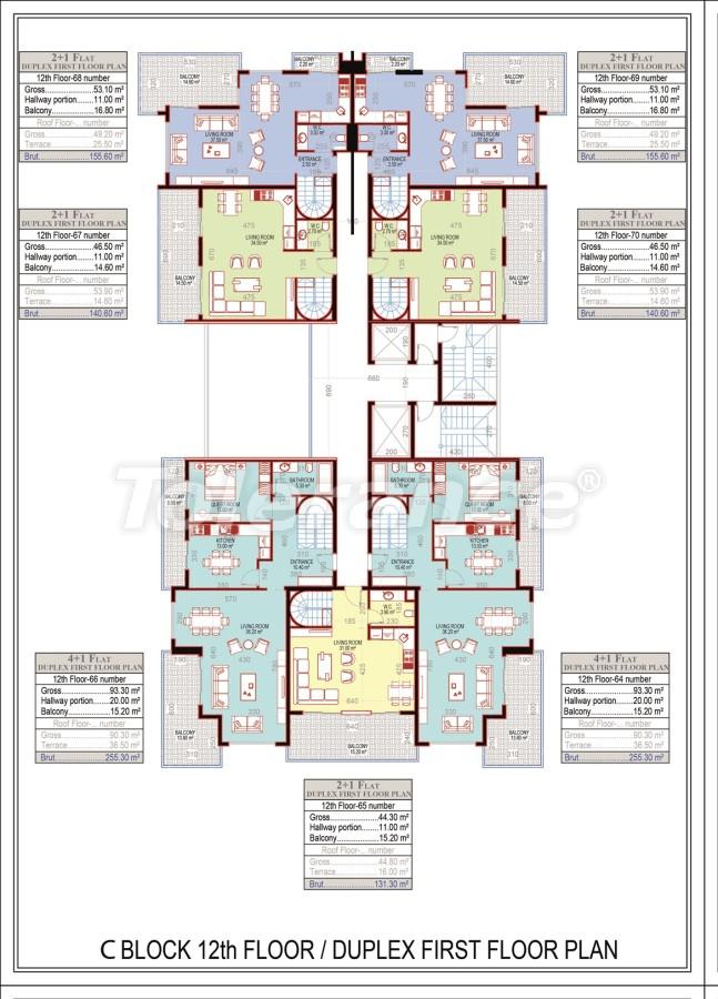 Эксклюзивный проект в центре Махмутлара, Алания от надежного застройщика с рассрочкой до 2-х лет - 21693 | Tolerance Homes
