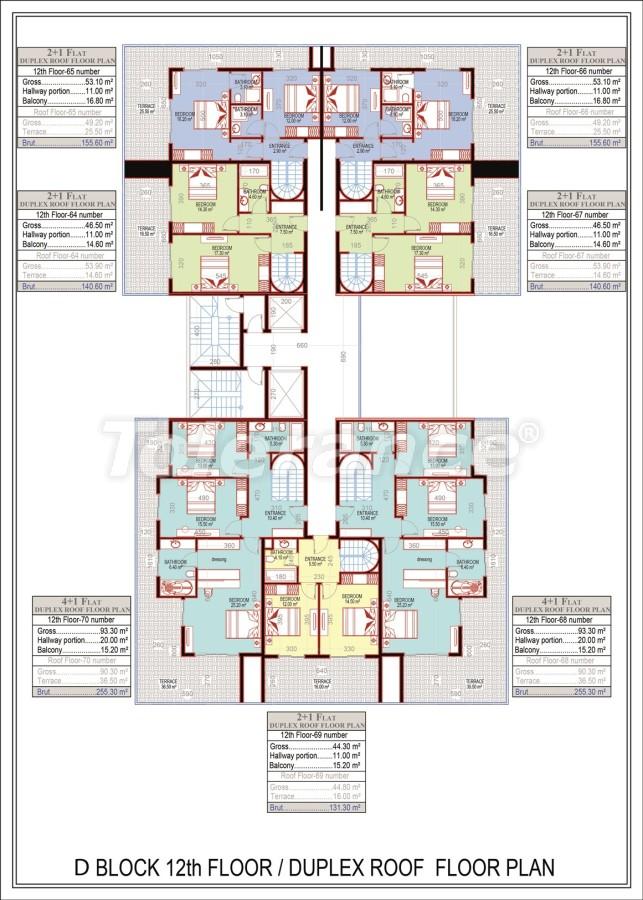 Эксклюзивный проект в центре Махмутлара, Алания от надежного застройщика с рассрочкой до 2-х лет - 21697 | Tolerance Homes