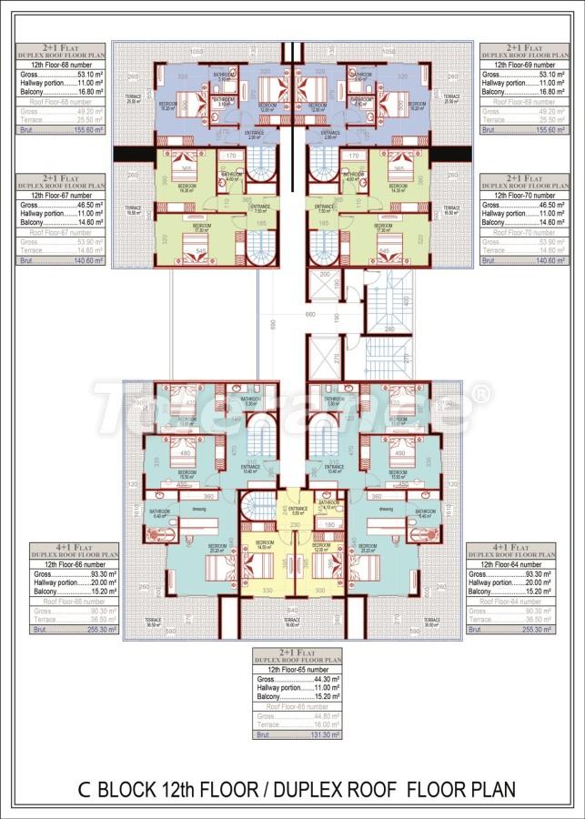 Эксклюзивный проект в центре Махмутлара, Алания от надежного застройщика с рассрочкой до 2-х лет - 21694 | Tolerance Homes