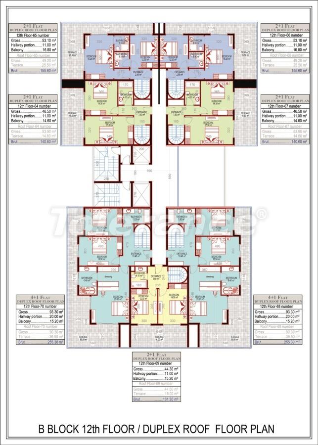 Эксклюзивный проект в центре Махмутлара, Алания от надежного застройщика с рассрочкой до 2-х лет - 21691 | Tolerance Homes