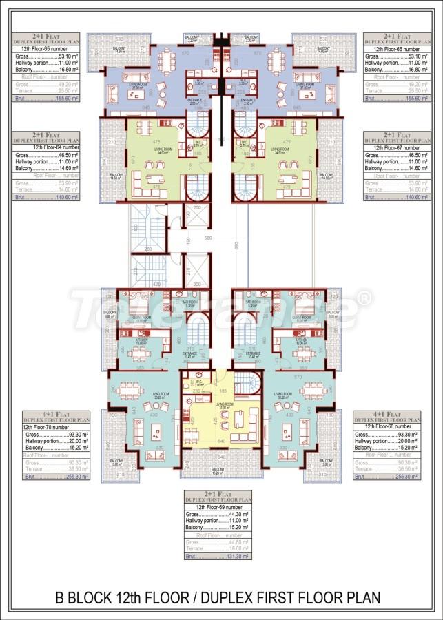Эксклюзивный проект в центре Махмутлара, Алания от надежного застройщика с рассрочкой до 2-х лет - 21690 | Tolerance Homes