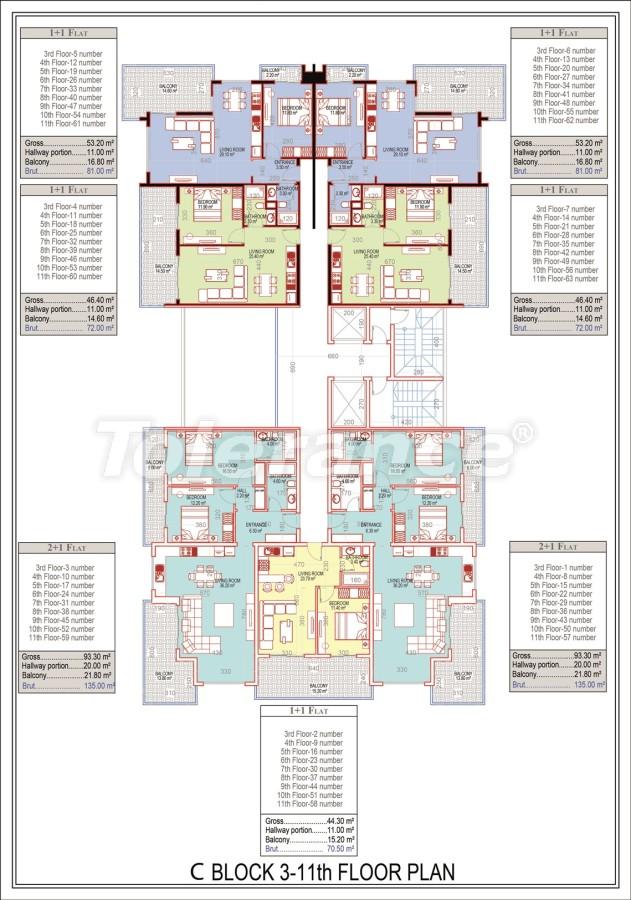 Эксклюзивный проект в центре Махмутлара, Алания от надежного застройщика с рассрочкой до 2-х лет - 21692 | Tolerance Homes