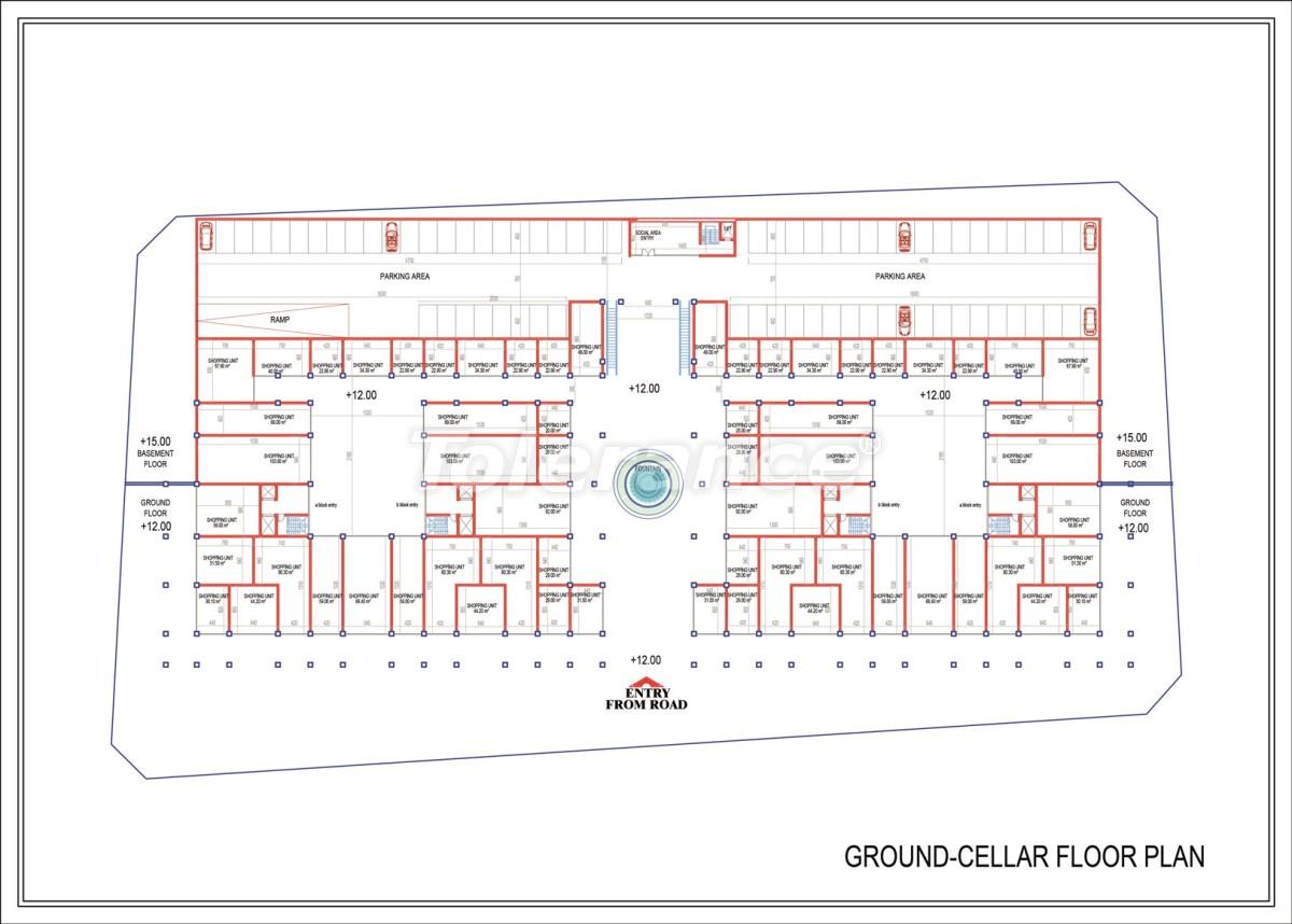 Эксклюзивный проект в центре Махмутлара, Алания от надежного застройщика с рассрочкой до 2-х лет - 21698 | Tolerance Homes