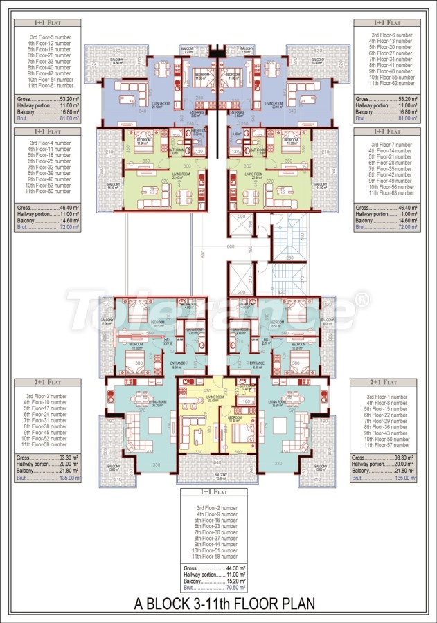 Эксклюзивный проект в центре Махмутлара, Алания от надежного застройщика с рассрочкой до 2-х лет - 21672 | Tolerance Homes