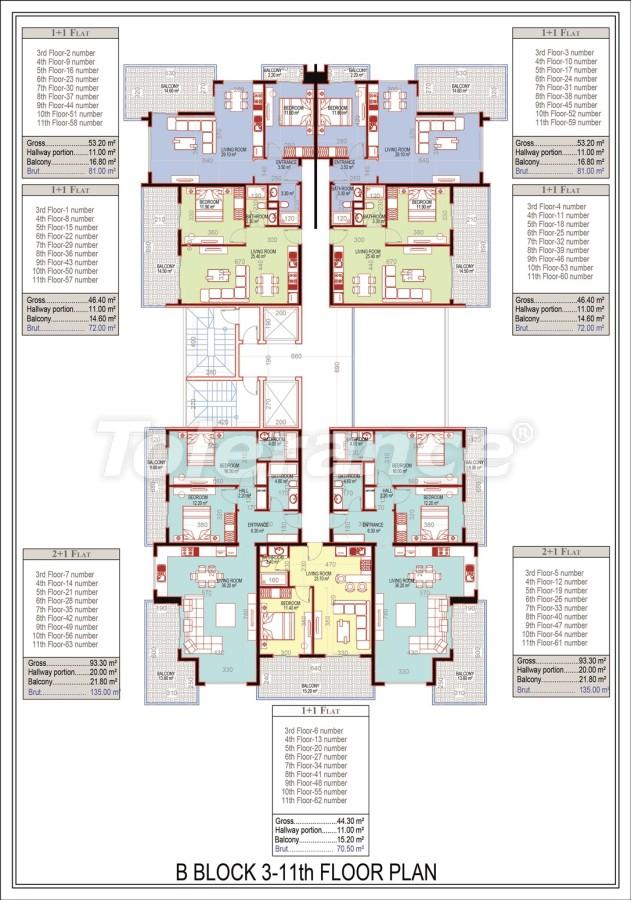 Эксклюзивный проект в центре Махмутлара, Алания от надежного застройщика с рассрочкой до 2-х лет - 21675 | Tolerance Homes