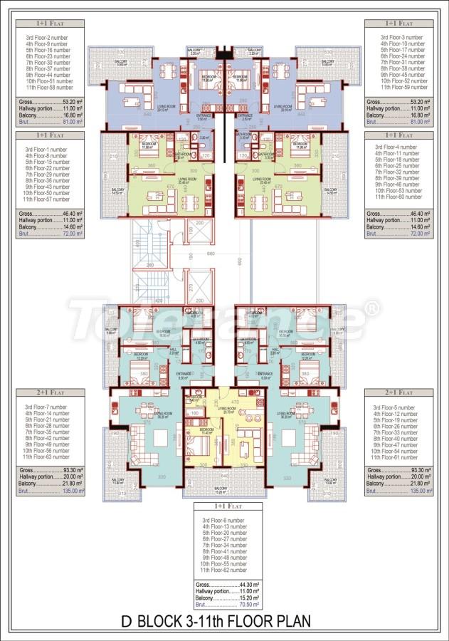 Эксклюзивный проект в центре Махмутлара, Алания от надежного застройщика с рассрочкой до 2-х лет - 21695 | Tolerance Homes