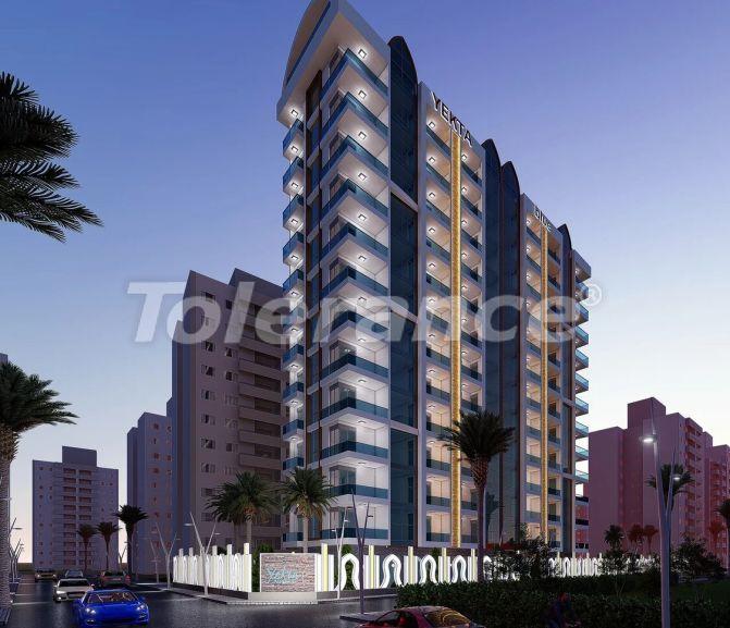 Недорогие апартаменты в Махмутларе, Аланья в современном комплексе - 21705 | Tolerance Homes