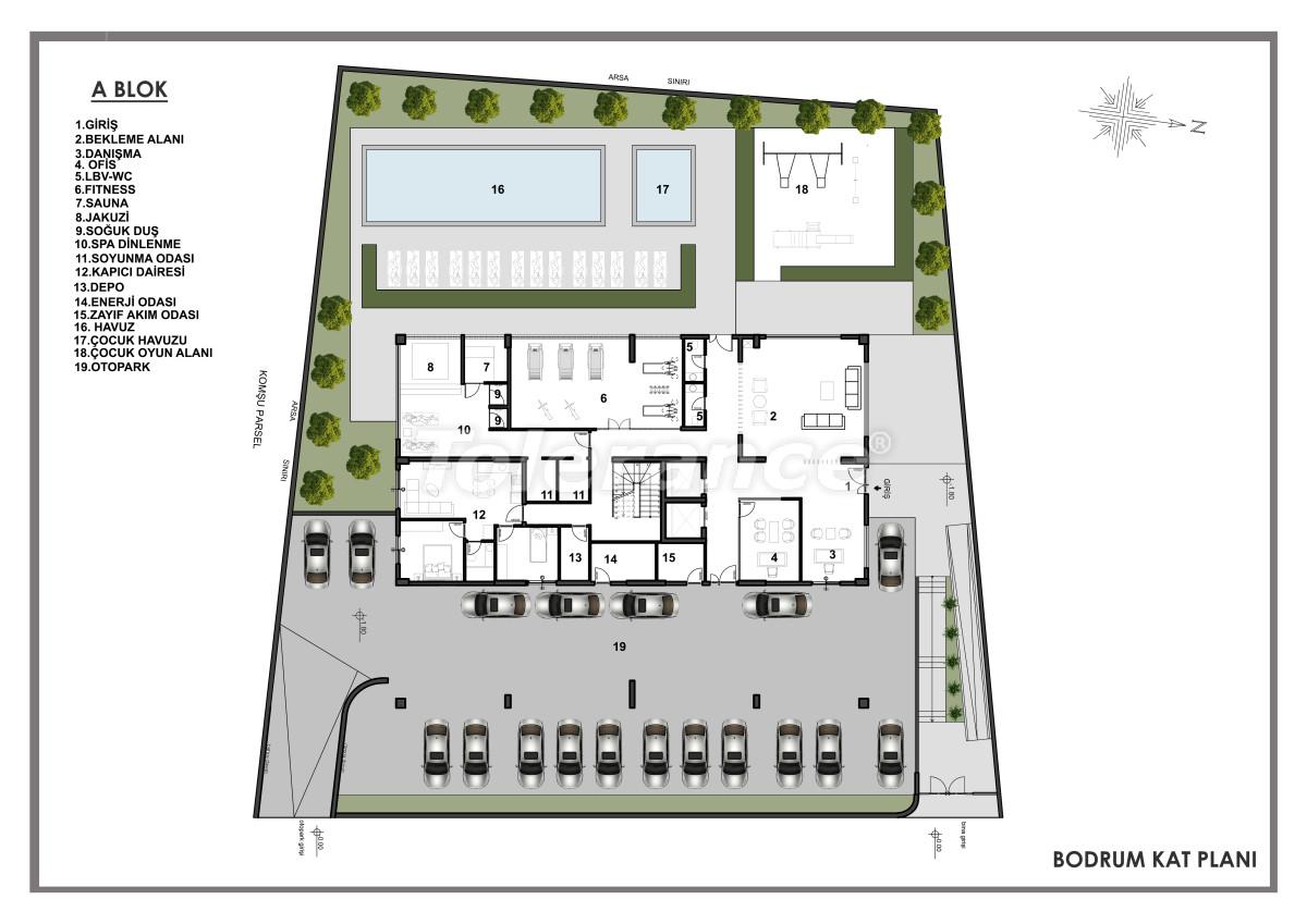 Современные апартаменты в центре Алании от застройщика с возможностью рассрочки до 6 месяцев - 22603 | Tolerance Homes