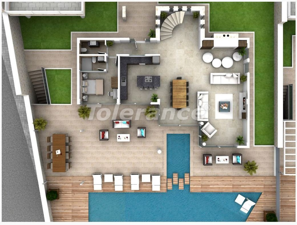 Вилла в Калкане с роскошным видом на море и с гарантией дохода от аренды - 22629 | Tolerance Homes