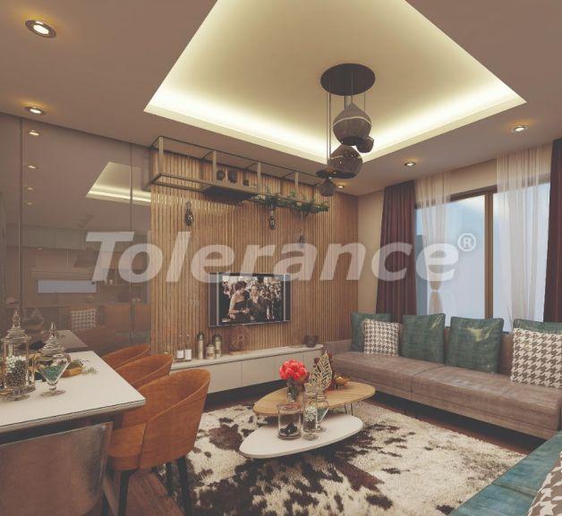 Стильные квартиры в Ларе, Анталия в современном комплексе с открытым бассейном - 22699 | Tolerance Homes