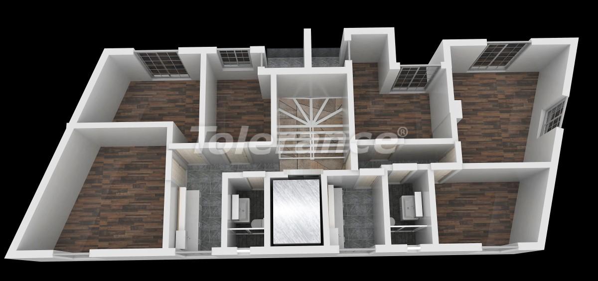 Трехкомнатные квартиры в центре Анталии - 23032   Tolerance Homes