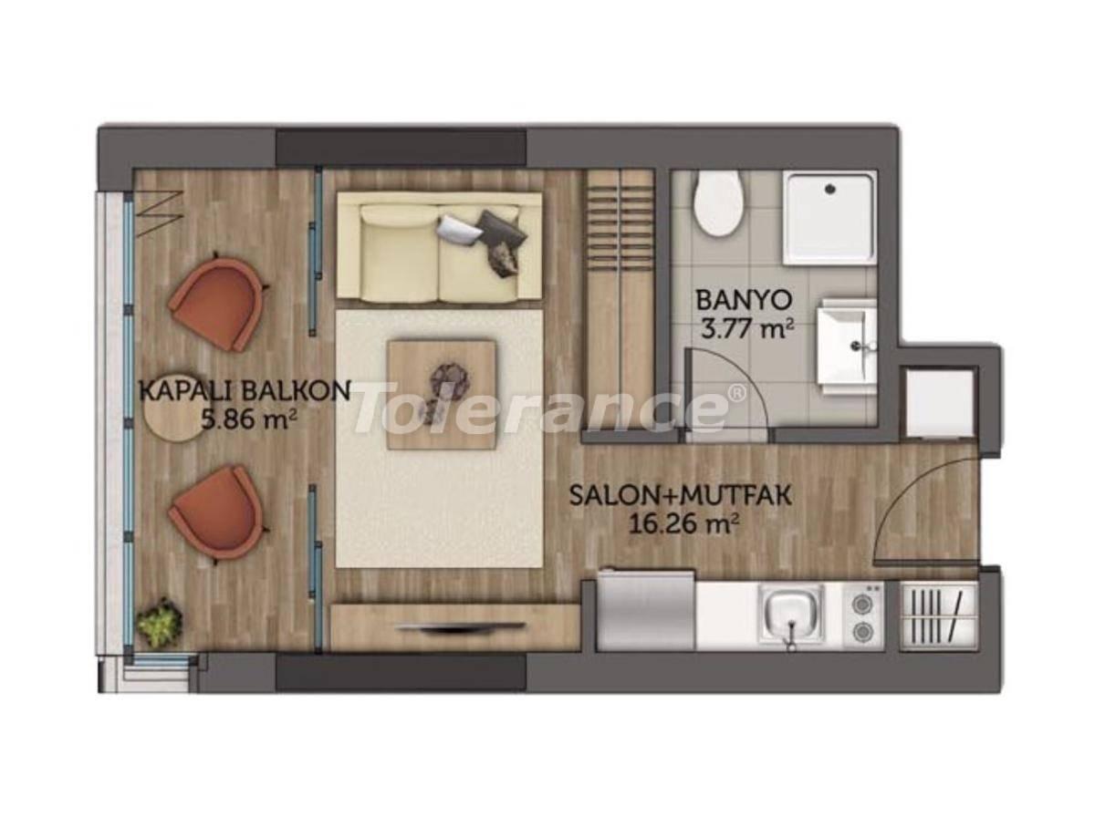 Современные апартаменты в Стамбуле с гарантией аренды на 3 года от лучшего застройщика - 23129 | Tolerance Homes