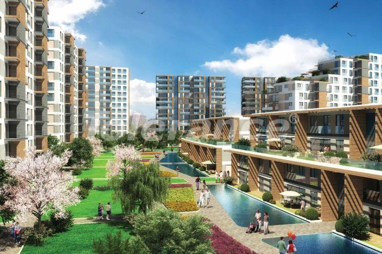 Просторные квартиры в Кючукчекмедже, Стамбул с видом на озеро и лес от одного из лучших застройщиков - 23210 | Tolerance Homes