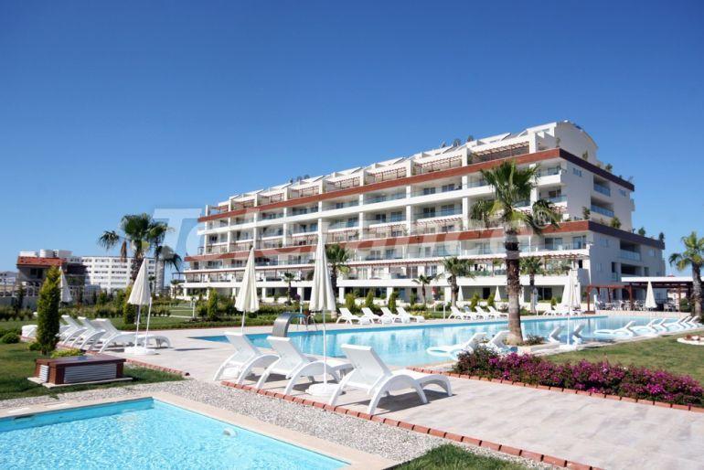 Вторичная квартира в Сиде в комплексе с крытым бассейном всего лишь в 700 метрах от моря - 23266 | Tolerance Homes