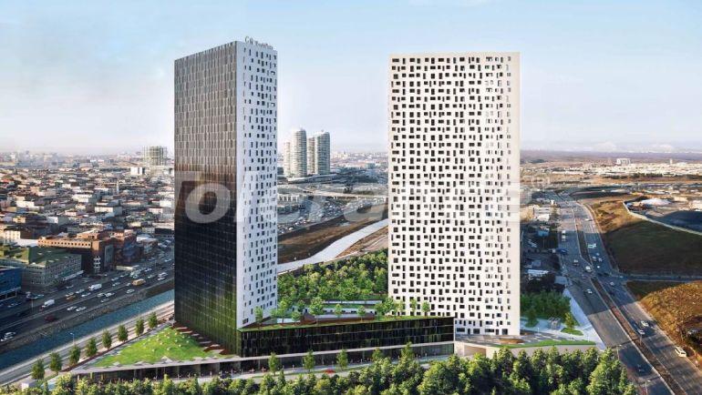 Апартаменты в Стамбуле в резиденс-отеле класса люкс с высокой гарантией аренды - 23369   Tolerance Homes