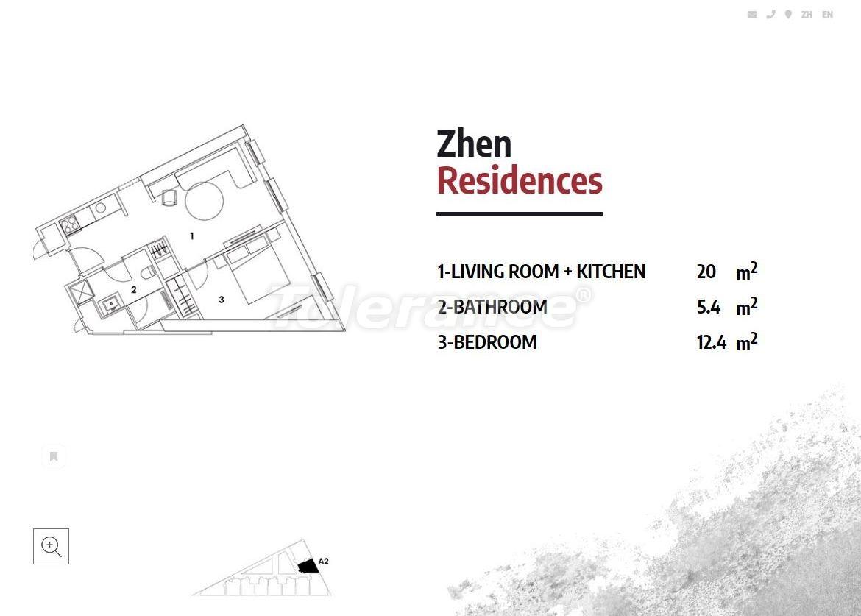Апартаменты в Стамбуле в резиденс-отеле класса люкс с высокой гарантией аренды - 23363   Tolerance Homes