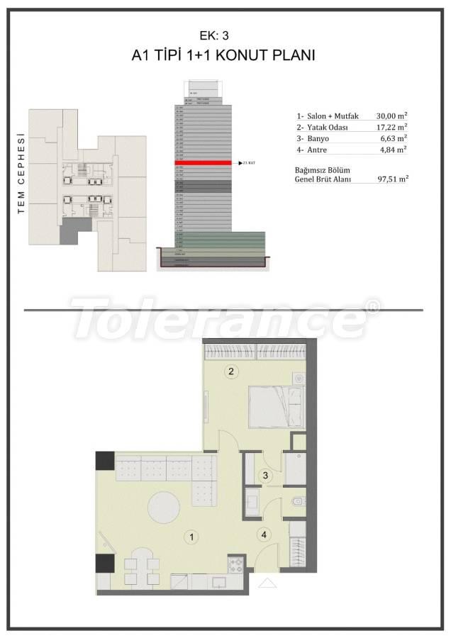 Апартаменты в Стамбуле в комплексе под управлением международной сети отелей с гарантией аренды на 15 лет - 23587 | Tolerance Homes
