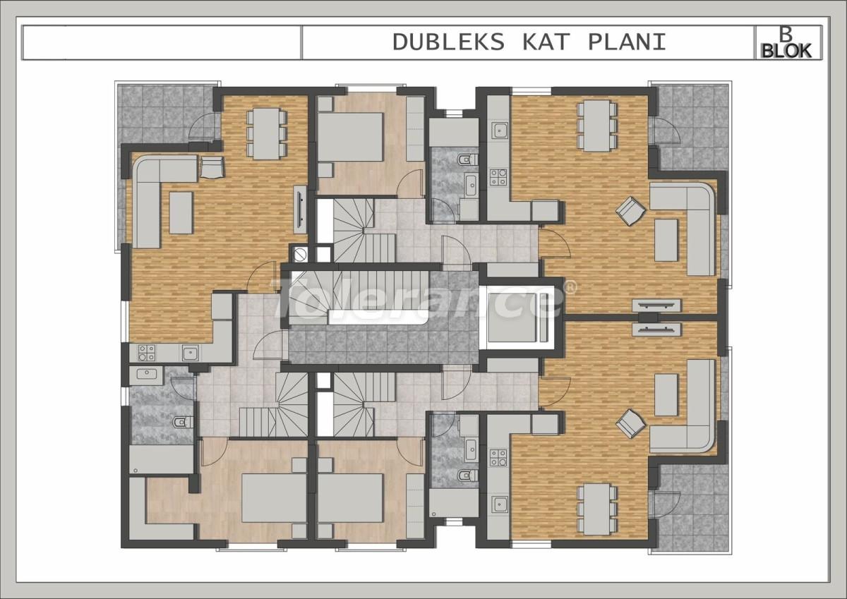 Элитные квартиры в Лимане, Коньяалты в современном комплексе от застройщика - 23696 | Tolerance Homes