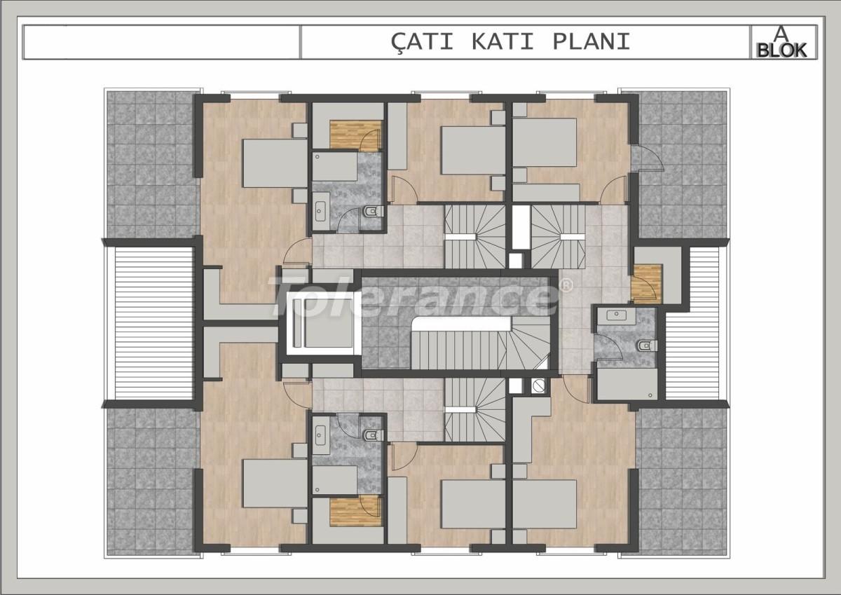 Элитные квартиры в Лимане, Коньяалты в современном комплексе от застройщика - 23694 | Tolerance Homes