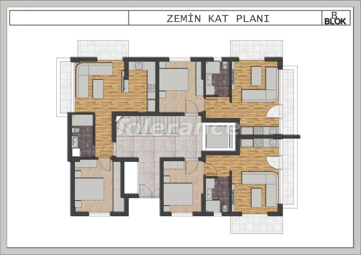 Элитные квартиры в Лимане, Коньяалты в современном комплексе от застройщика - 23695 | Tolerance Homes