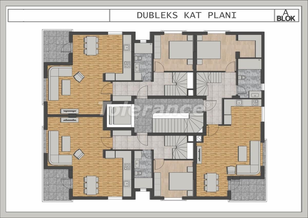 Элитные квартиры в Лимане, Коньяалты в современном комплексе от застройщика - 23693 | Tolerance Homes