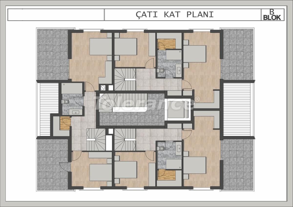 Элитные квартиры в Лимане, Коньяалты в современном комплексе от застройщика - 23698 | Tolerance Homes