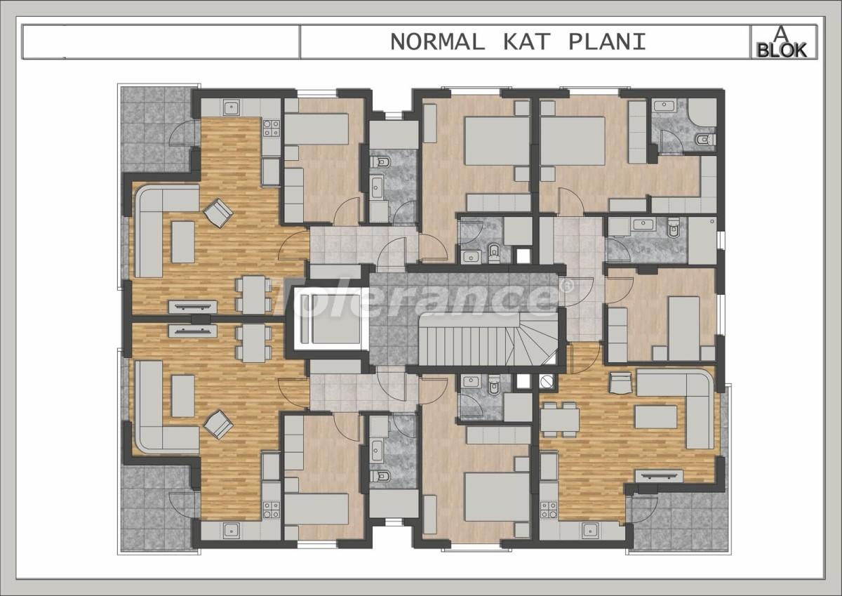 Элитные квартиры в Лимане, Коньяалты в современном комплексе от застройщика - 23697 | Tolerance Homes