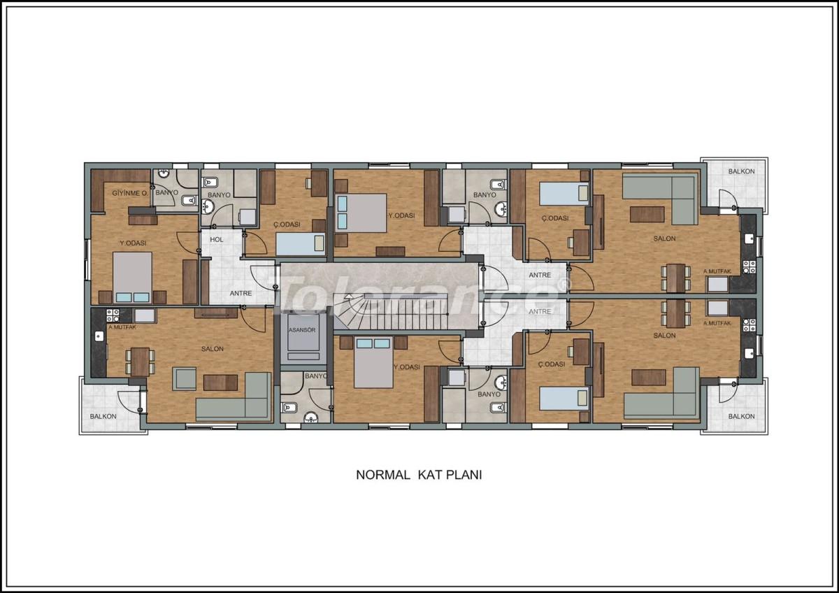 Современные квартиры в Лимане, Коньяалты рядом с морем от качественного и надежного застройщика - 23728 | Tolerance Homes
