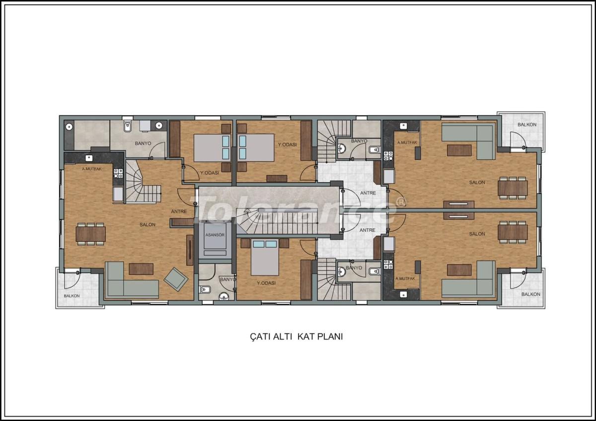 Современные квартиры в Лимане, Коньяалты рядом с морем от качественного и надежного застройщика - 23726 | Tolerance Homes