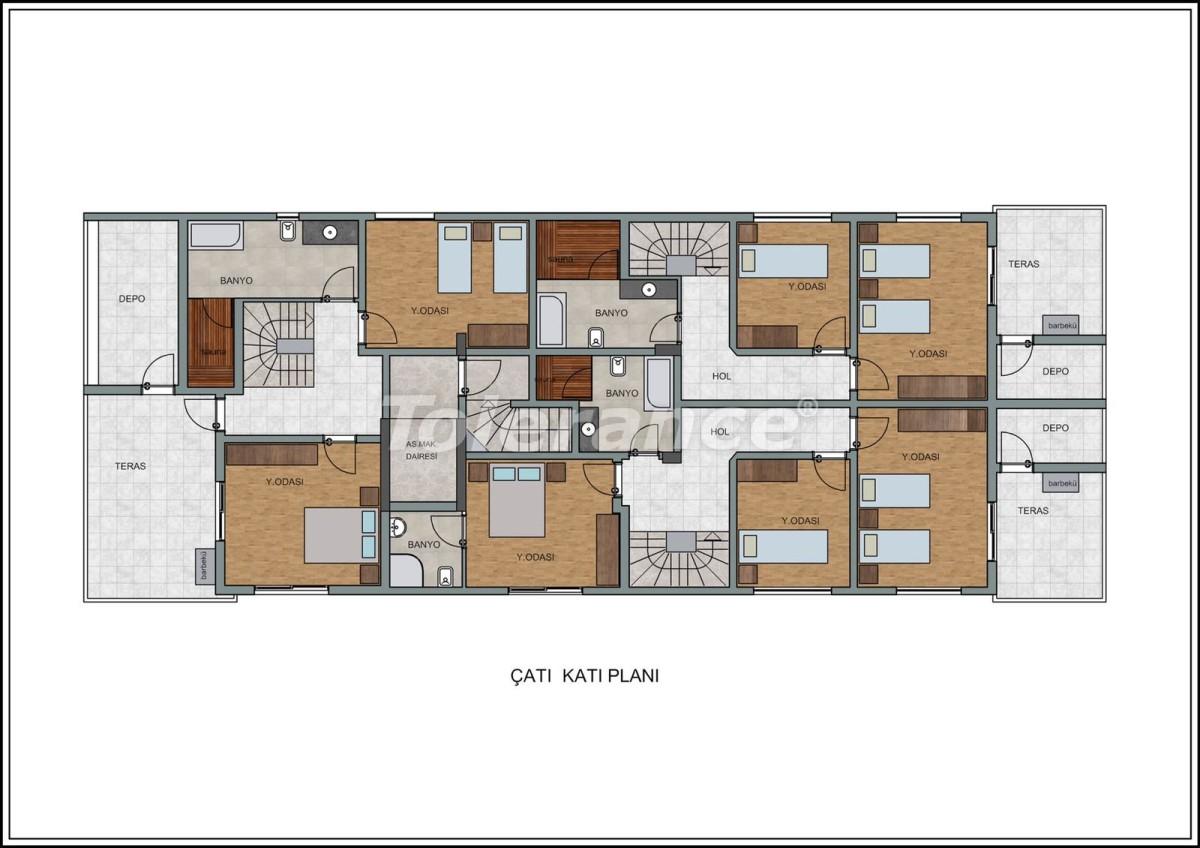 Современные квартиры в Лимане, Коньяалты рядом с морем от качественного и надежного застройщика - 23727 | Tolerance Homes