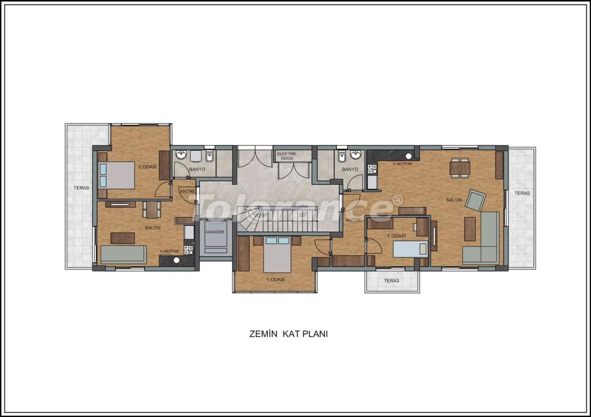 Современные квартиры в Лимане, Коньяалты рядом с морем от качественного и надежного застройщика - 23725 | Tolerance Homes