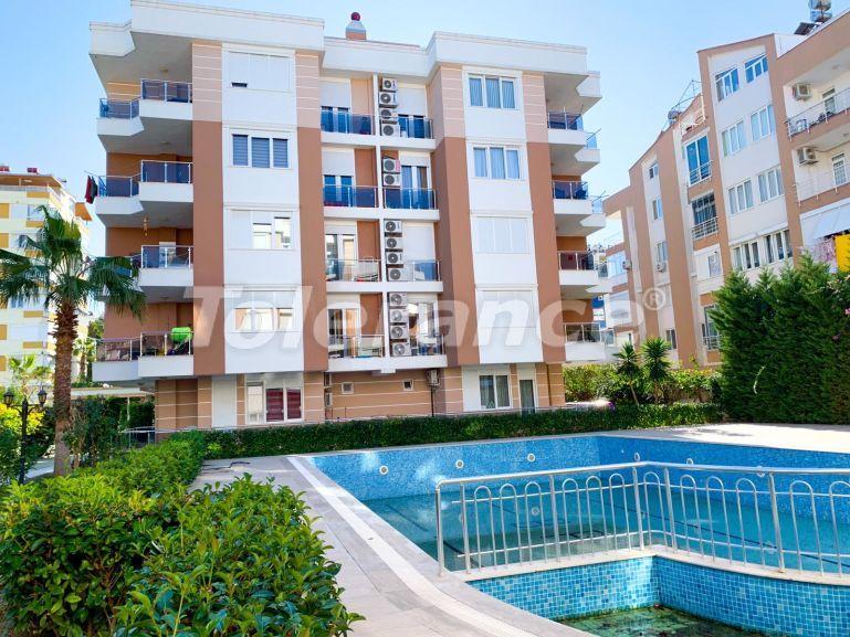 Трехкомнатные квартиры в Лимане, Коньяалты в комплексе с бассейном рядом с морем - 23785 | Tolerance Homes