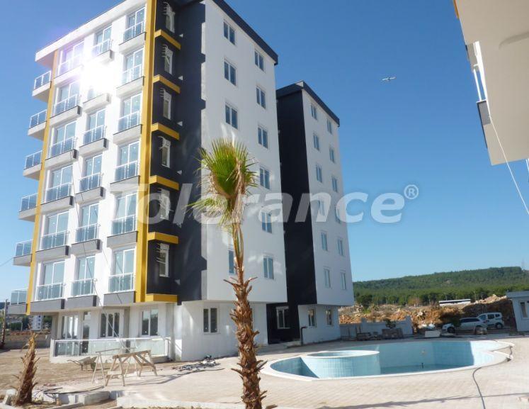 Дешевые четырехкомнатные квартиры в Кепезе, Анталия от застройщика в комплексе с бассейном - 23827 | Tolerance Homes
