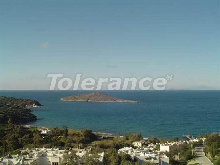 Участок земли в заповеднике полуострова Бодрум, в жилом комплексе на берегу моря - 23918 | Tolerance Homes