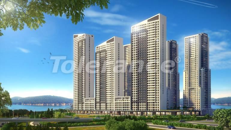 Просторные квартиры в Стамбуле в рассрочку с прямым видом на море и озеро - 24080   Tolerance Homes